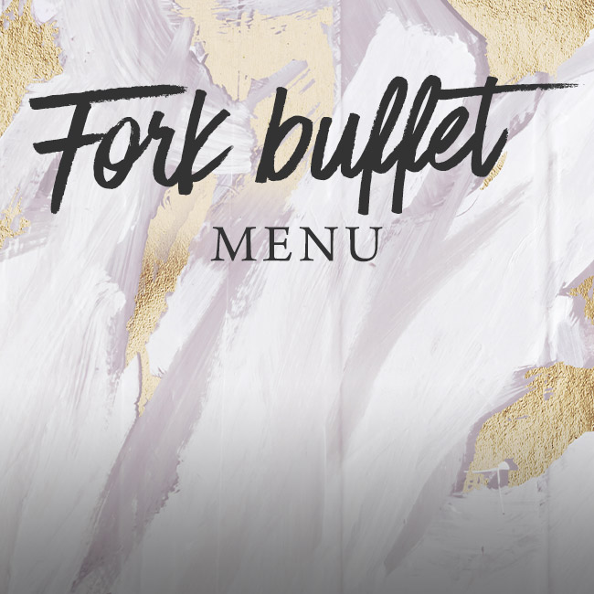 Fork buffet menu at The Green House