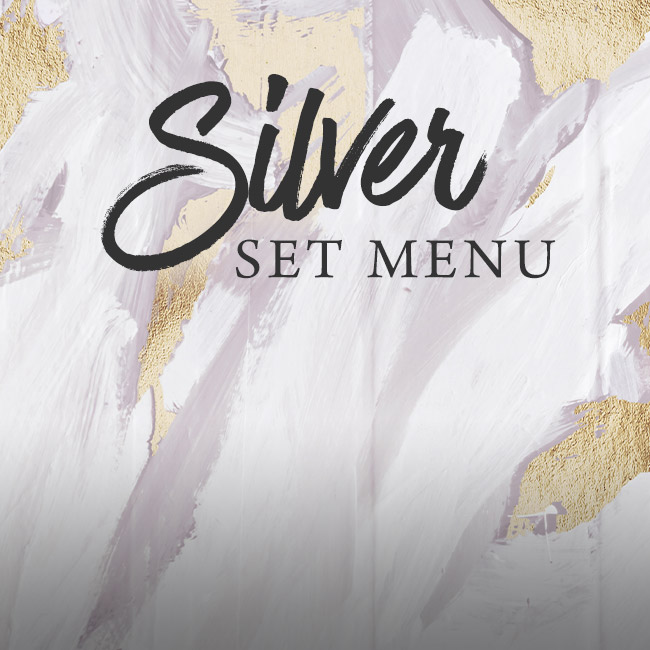 Silver set menu at The Green House