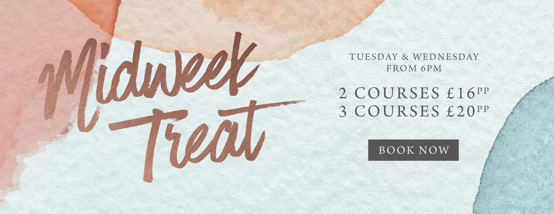 Midweek treat at The Green House - Book now